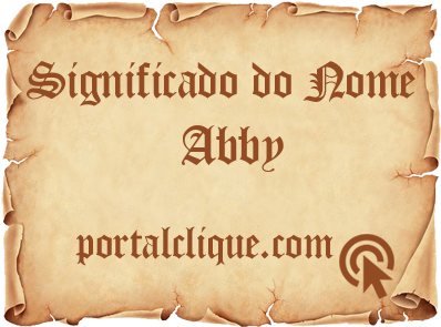 Significado do Nome Abby