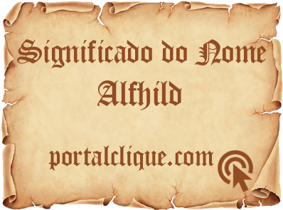 Significado do Nome Alfhild
