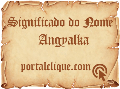 Significado do Nome Angyalka