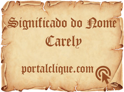 Significado do Nome Carely