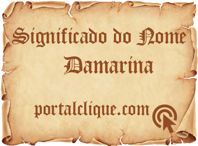 Significado do Nome Damarina