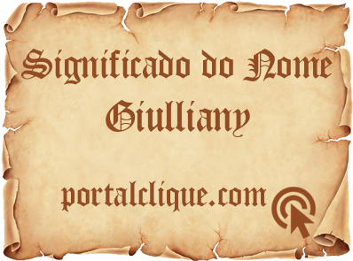 Significado do Nome Giulliany