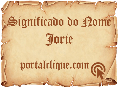 Significado do Nome Jorie