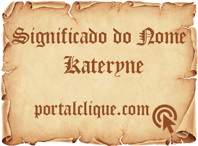 Significado do Nome Kateryne