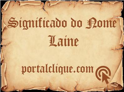Significado de Laine