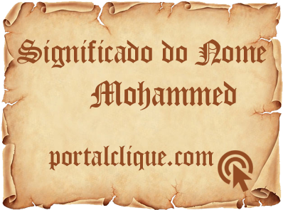 Significado do Nome Mohammed