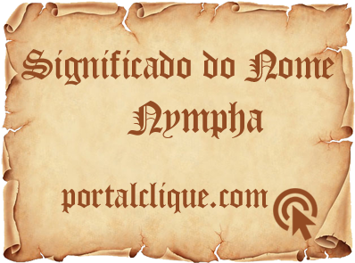 Significado do Nome Nympha