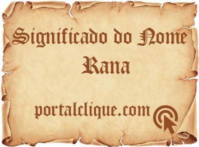 Significado do Nome Rana