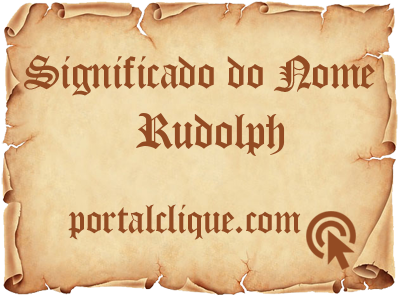 Significado do Nome Rudolph