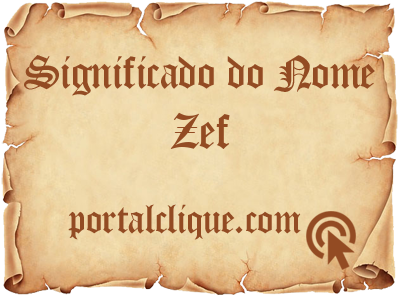 Significado do Nome Zef