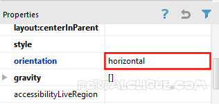orientation-horizontal-android-studio