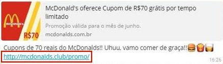 Photo of Boato: McDonald's Oferece Cupom Grátis por Tempo Limitado